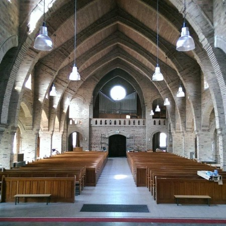 Kerkzaal achterzijde