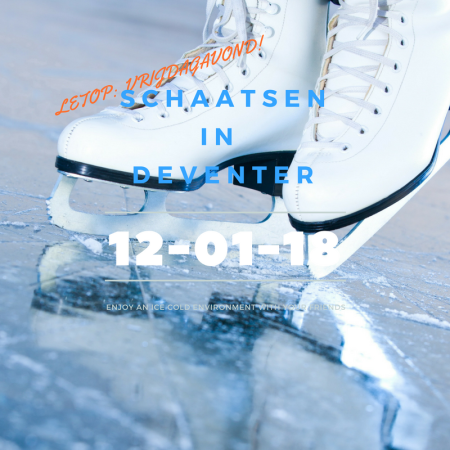 20180112 Schaatsen in Deventer